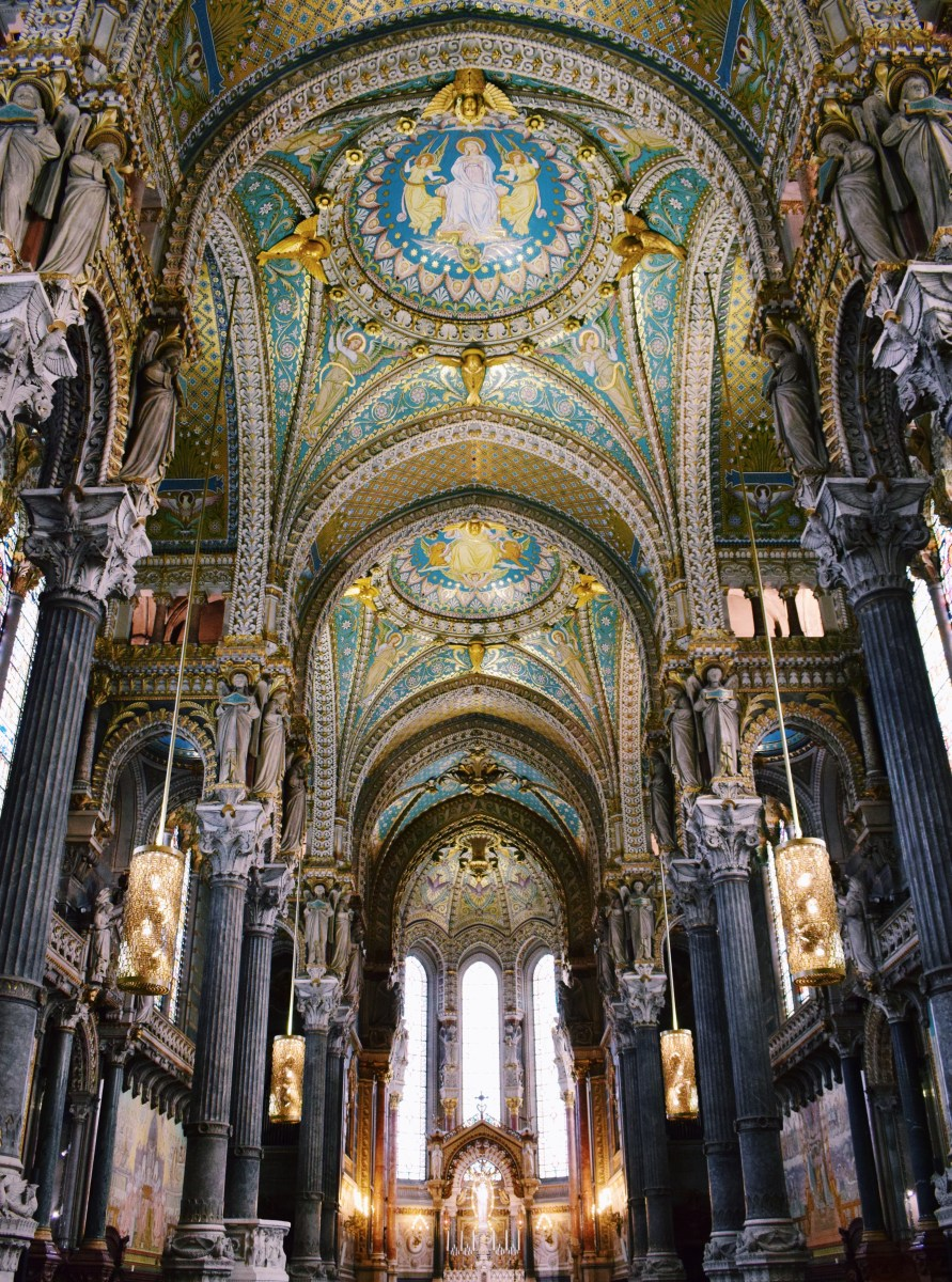 See Inside the Glorious Basilica of Notre-Dame de Fourvière